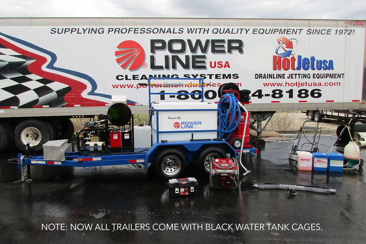 Environmental Power Wash Trailers for Pressure Wash Business Professionals