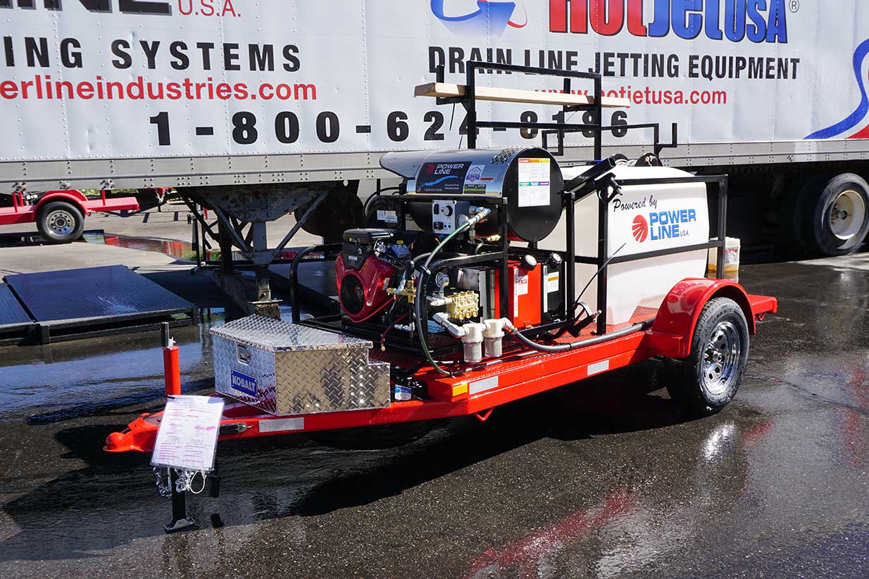 Starter Power Wash Trailer Package to start a Mobile Wash Business